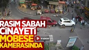Samsun'da Rasim Sabah cinayeti MOBESE kamerasında