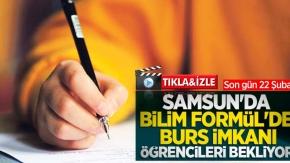 Samsun'da burs imkanı öğrencileri bekliyor
