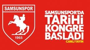 Samsunspor'da tarihi kongre - CANLI